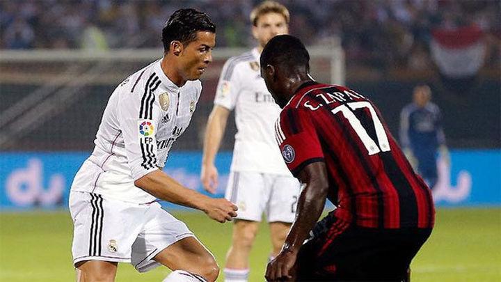 2-4. El Real Madrid no pudo ante el Milan despedir el 2014 con una victoria