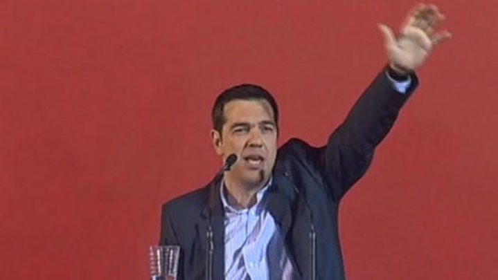 Tsipras pide mayoría absoluta para las elecciones del domingo en Grecia