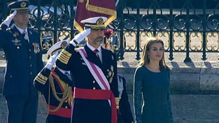 """El Rey a las Fuerzas Armadas: """"Mandar es servir"""""""