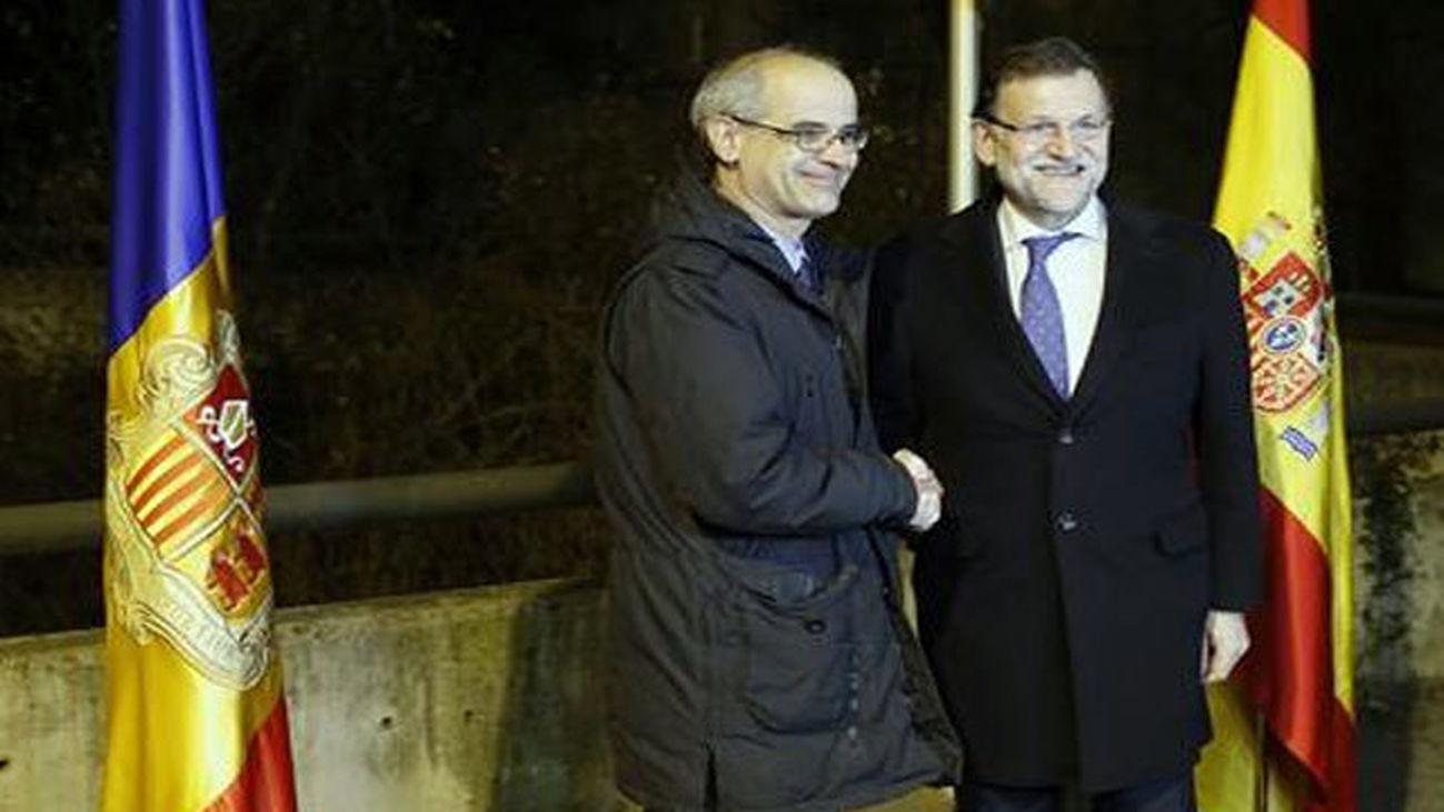 Antoni Martí con Mariano Rajoy