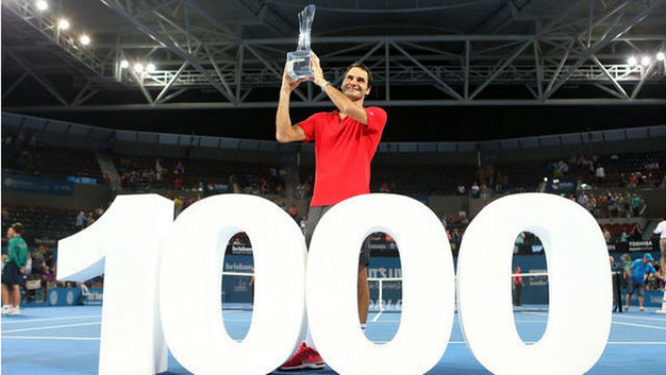 Roger Federer, 1.000 victorias