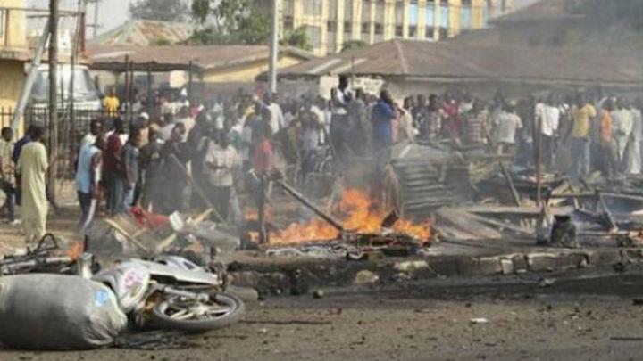 Al menos 7 muertos y 48 heridos en dos explosiones en un mercado de Nigeria