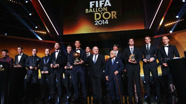 Todos los galardonados