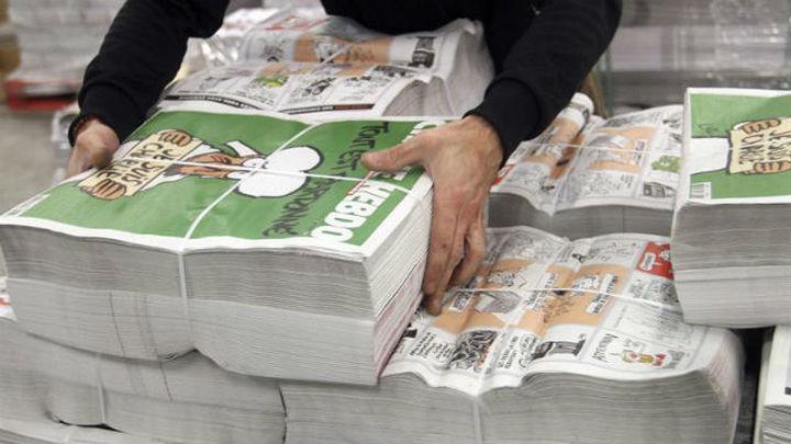 'Charlie Hebdo' activa una aplicación para descargar su último número al móvil