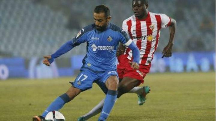 1-0. El Getafe se gana los cuartos ante el Almería
