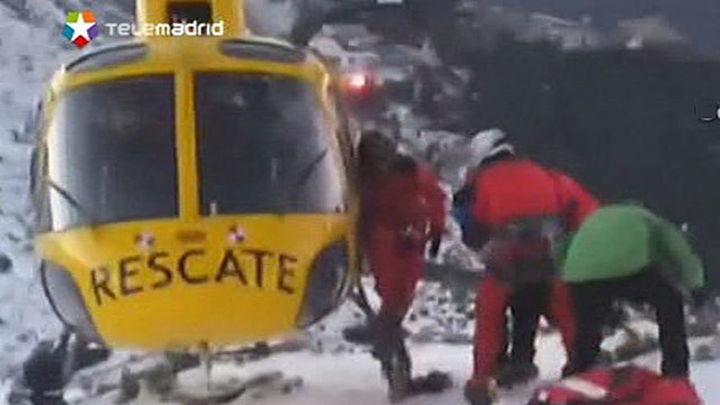 Cinco montañeros resultan heridos en Valdesqui tras caer más de 70 metros