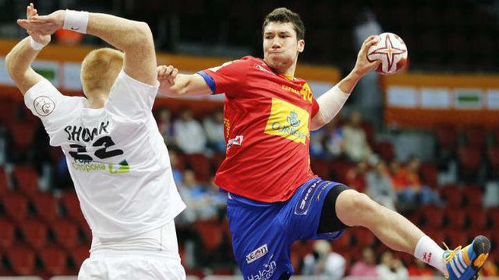 38-33. España debuta con una victoria ante Bielorrusia