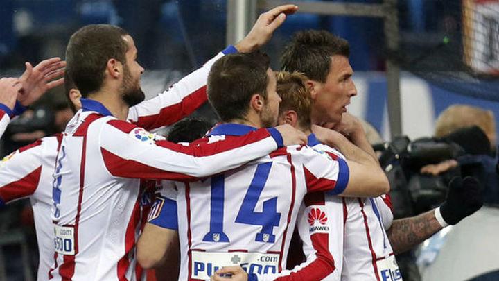 2-0. El Atlético supera con victoria una tarde gris