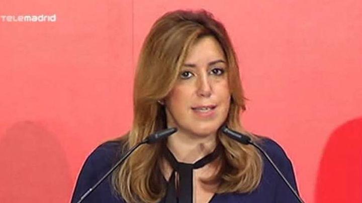 """Susana Díaz tras reunirse con IU: Es el """"momento de los andaluces"""""""