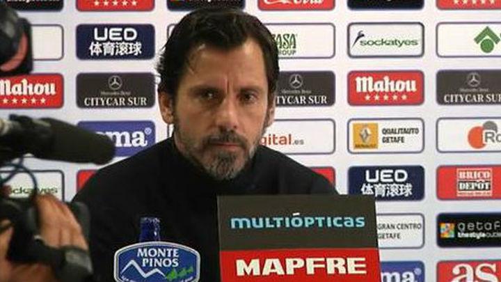 """Quique: """"La prioridad es la Liga, pero no vamos a a tirar la Copa"""""""
