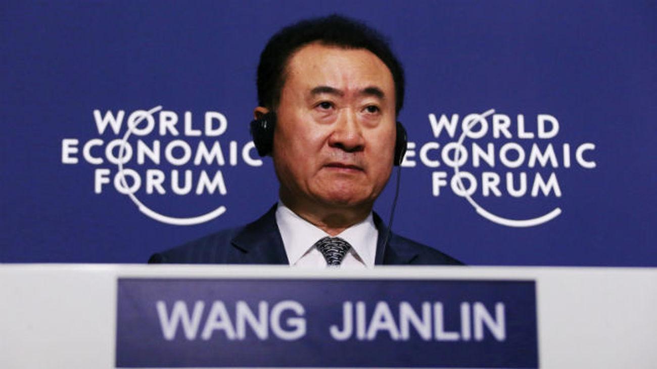 Madrid seduce al magnate chino Wang Jianlin
