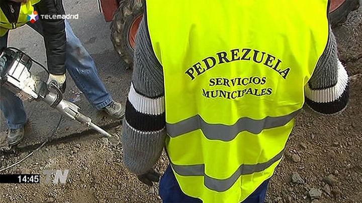 58 desempleados trabajan en Pedrezuela en proyectos sociales