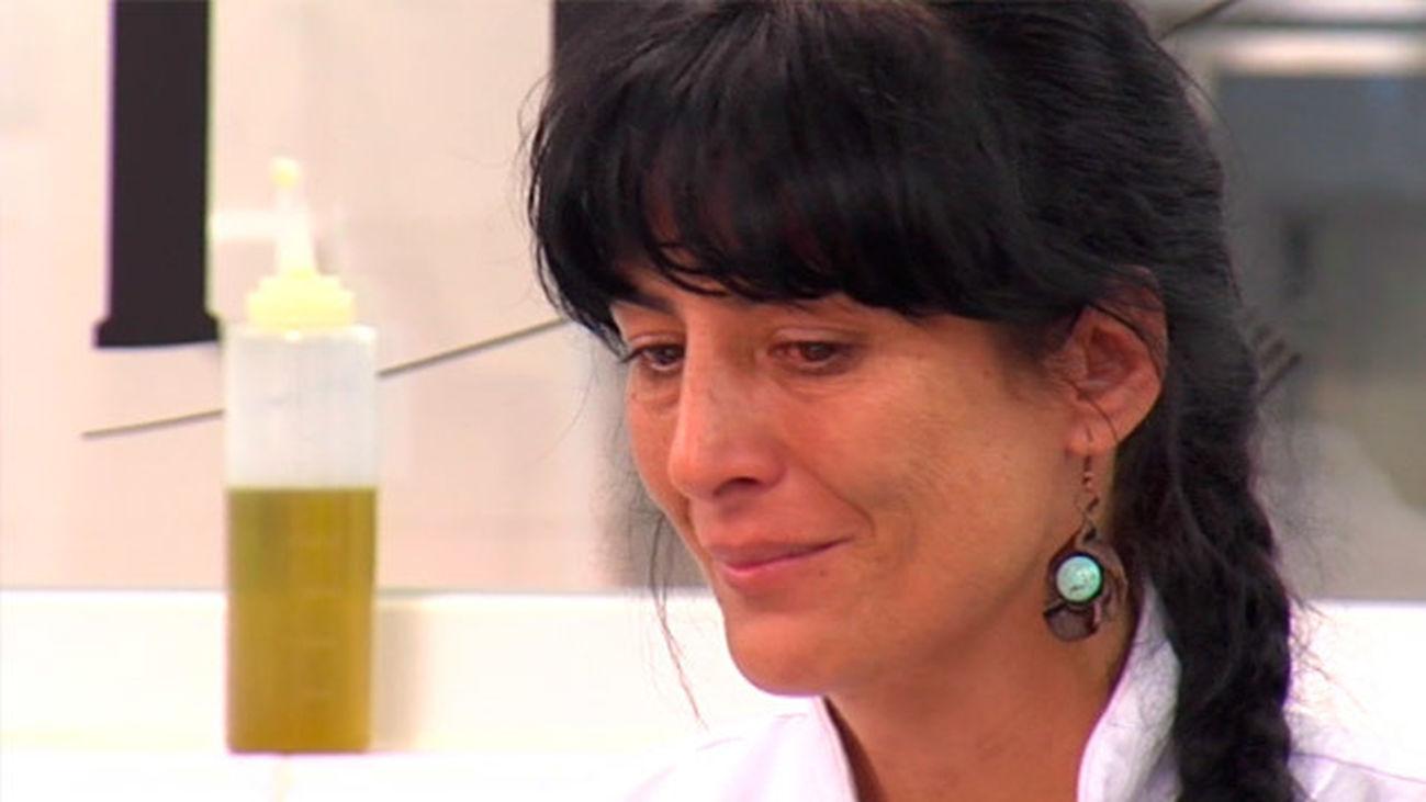 "Pilar: ""Llevo 5 meses rota, sin poder crear ningun plato, pero me habéis devuelto la ilusión"""