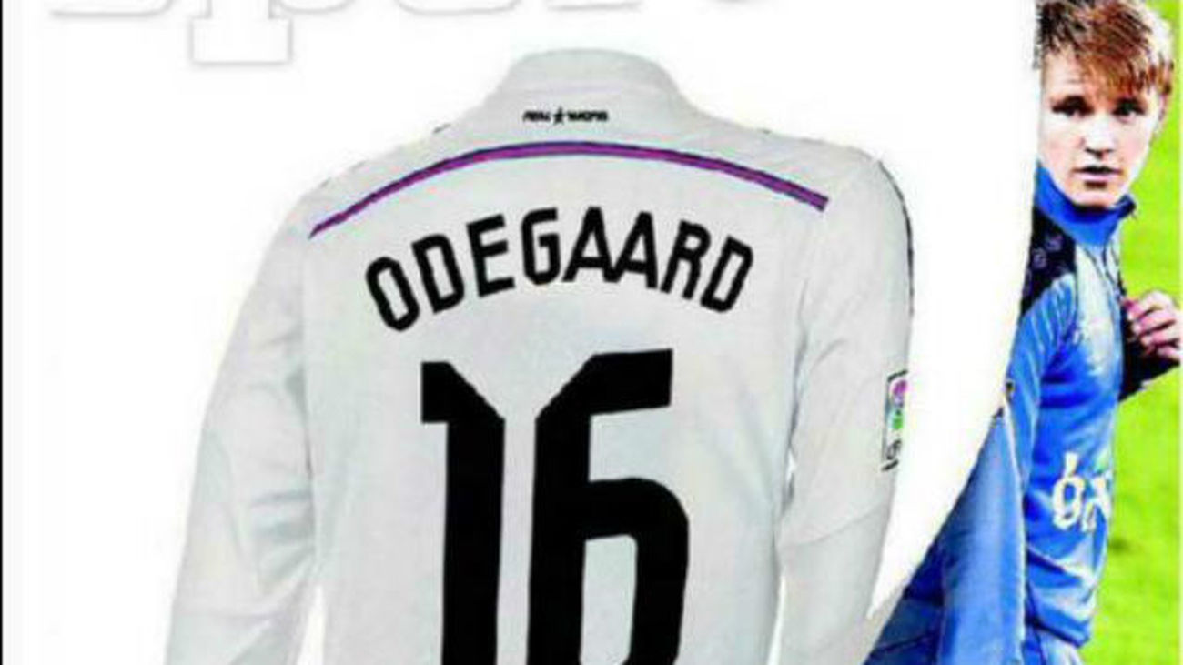 Odegaard ya es jugador del Real Madrid