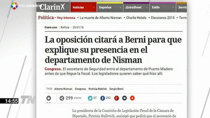 El Secretario de Seguridad argentino estuvo en el domicilio de Nisman antes que el juez