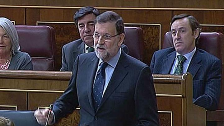 """Rajoy adelanta un buen dato de la EPA y dice que España """"está enfilando la recuperación"""""""