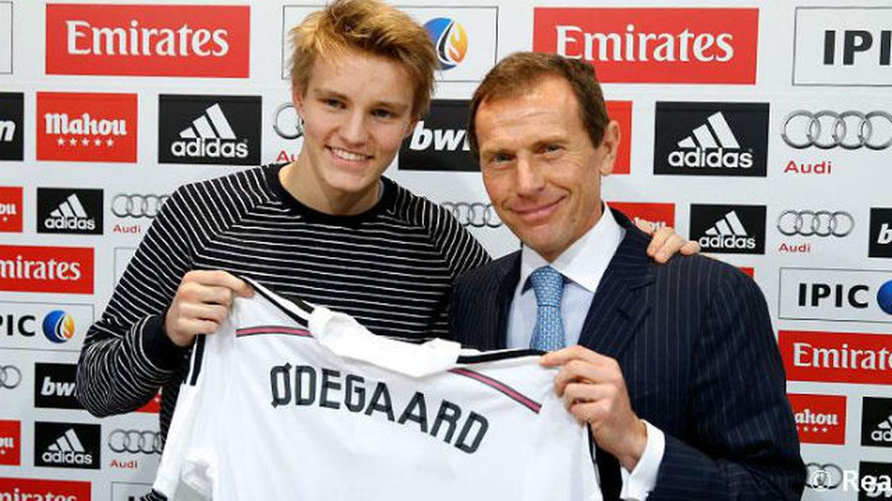 Odegaard ya es oficialmente jugador del Real Madrid