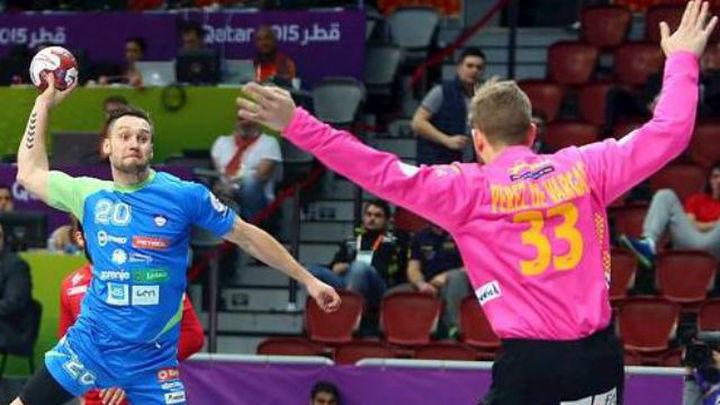 30-26. España gana a Eslovenia y se medirá con Túnez en octavos