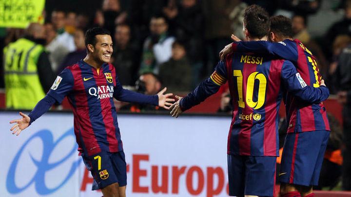 0-6. El Barcelona abusa del Elche