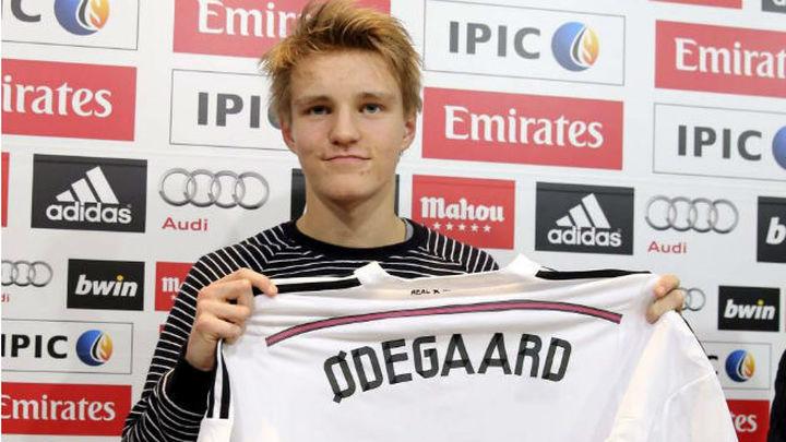 """Odegaard: """"Elegí lo que deportivamente era mejor"""""""