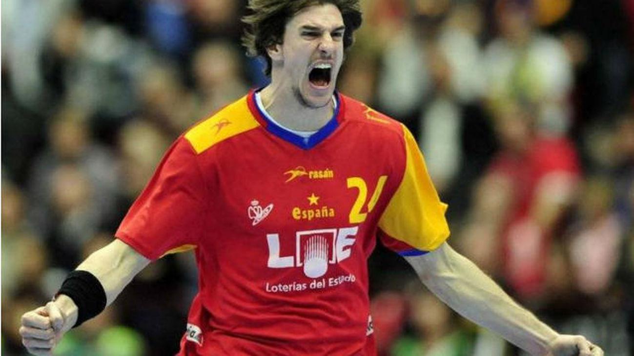 Viran Morros, selección española de balonmano