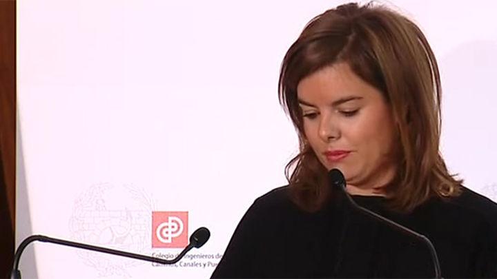 Sáenz de Santamaría afirma que el crecimiento de España no es un espejismo