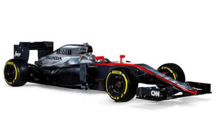 McLaren-Honda presenta el nuevo MP4-30