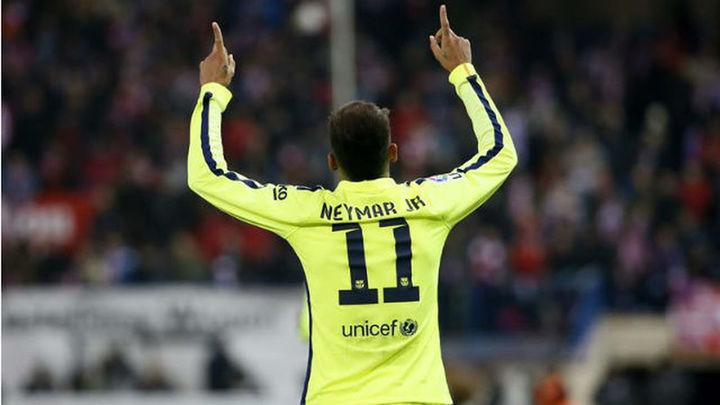 Neymar se consagra con un partido total