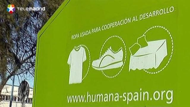 Madrid ha retirado muchos contenedores ilegales
