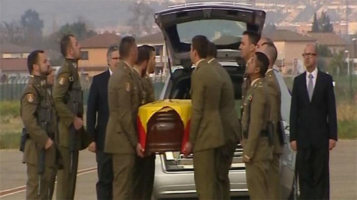 Llega a Córdoba el cadáver del militar español fallecido en el Líbano