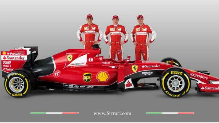 Ferrari muestra su nuevo SF15T
