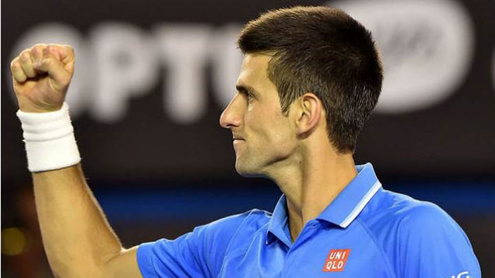 Open Australia: Djokovic, a la final tras vencer a Wawrinka