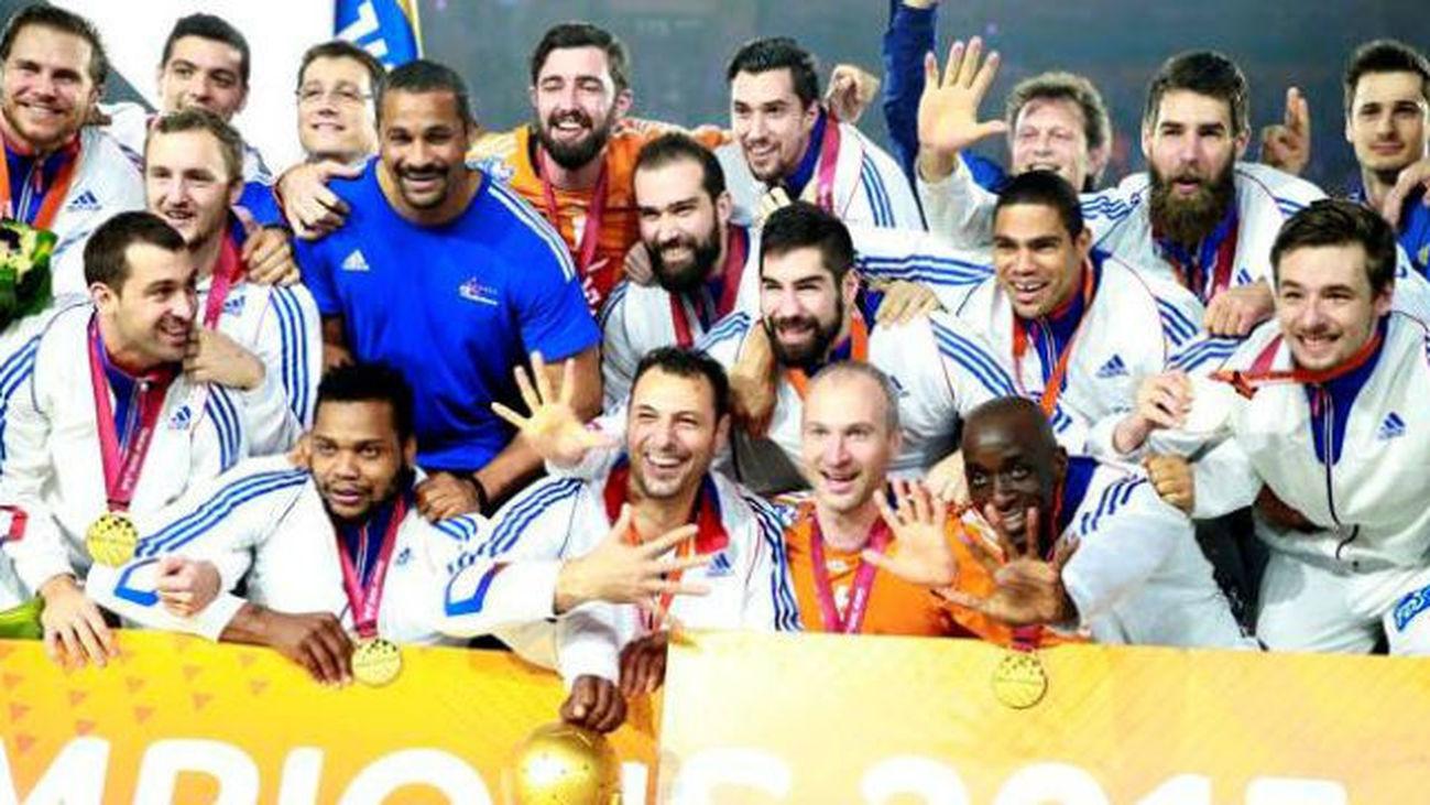 Francia, campeona del mundo de balonmano 2015