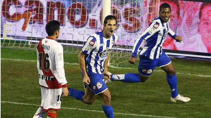 1-2. El Rayo pierde con el Deportivo