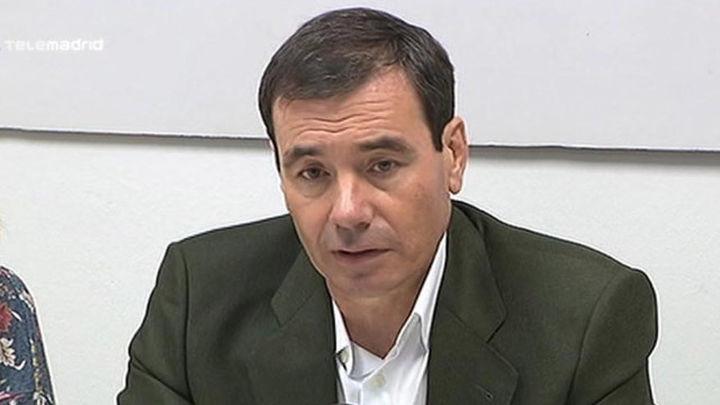 """Gómez: """"Sánchez está en la prórroga, no debe decidir si gobernar con Carmena"""""""