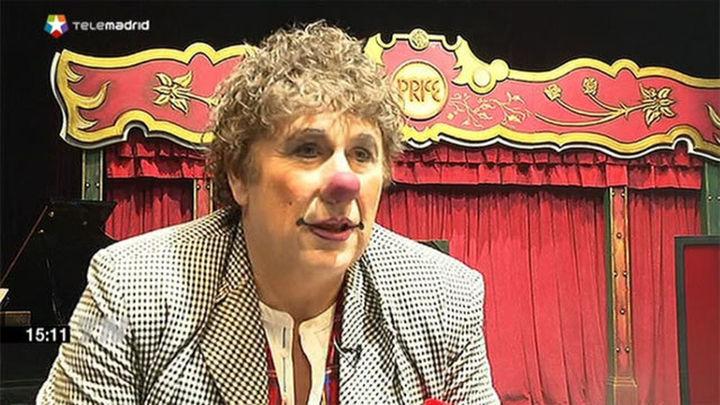 """David Larible, 'clown': """"Necesitamos más payasos y menos políticos"""""""