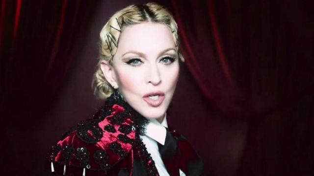 """Madonna se vuelve torera y """"nietzscheana"""" en su nuevo videoclip"""