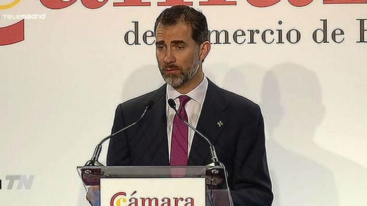 Felipe VI llama a las empresas y a las jóvenes generaciones a salir al exterior