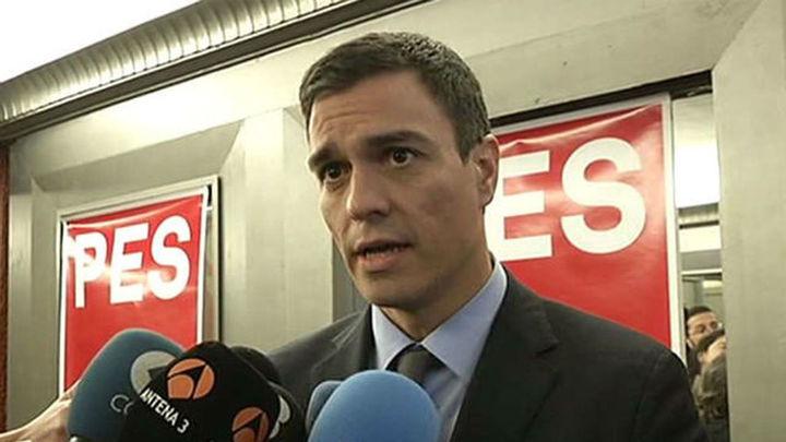 """Sánchez: """"Estamos construyendo una alternativa ganadora en Madrid"""""""