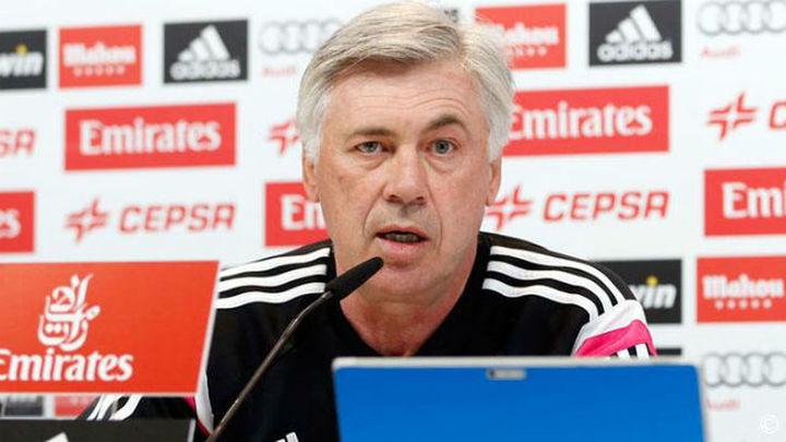 """Ancelotti: """"Hemos bajado en intensidad, actitud y concentración"""""""