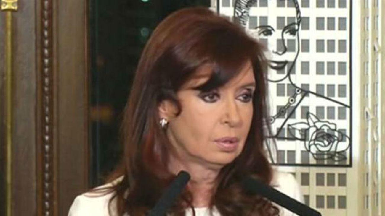 Cristina Fernández, imputada en la causa por la denuncia de Nisman