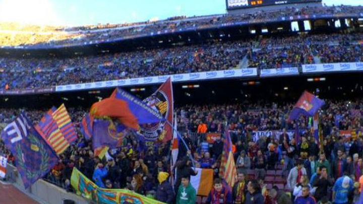 """La LFP denuncia al Barça por los cánticos """"Cristiano, borracho"""""""