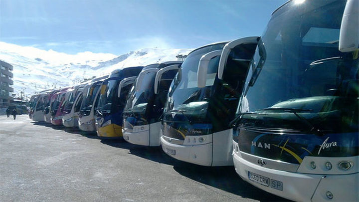 Los autobuses turísticos contarán con 155 plazas de aparcamiento en Madrid