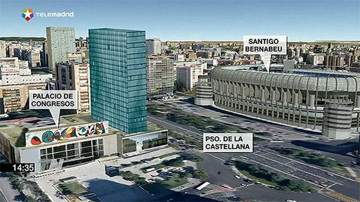 La reforma del Palacio de Congresos de Castellana contempla un hotel de 23 plantas