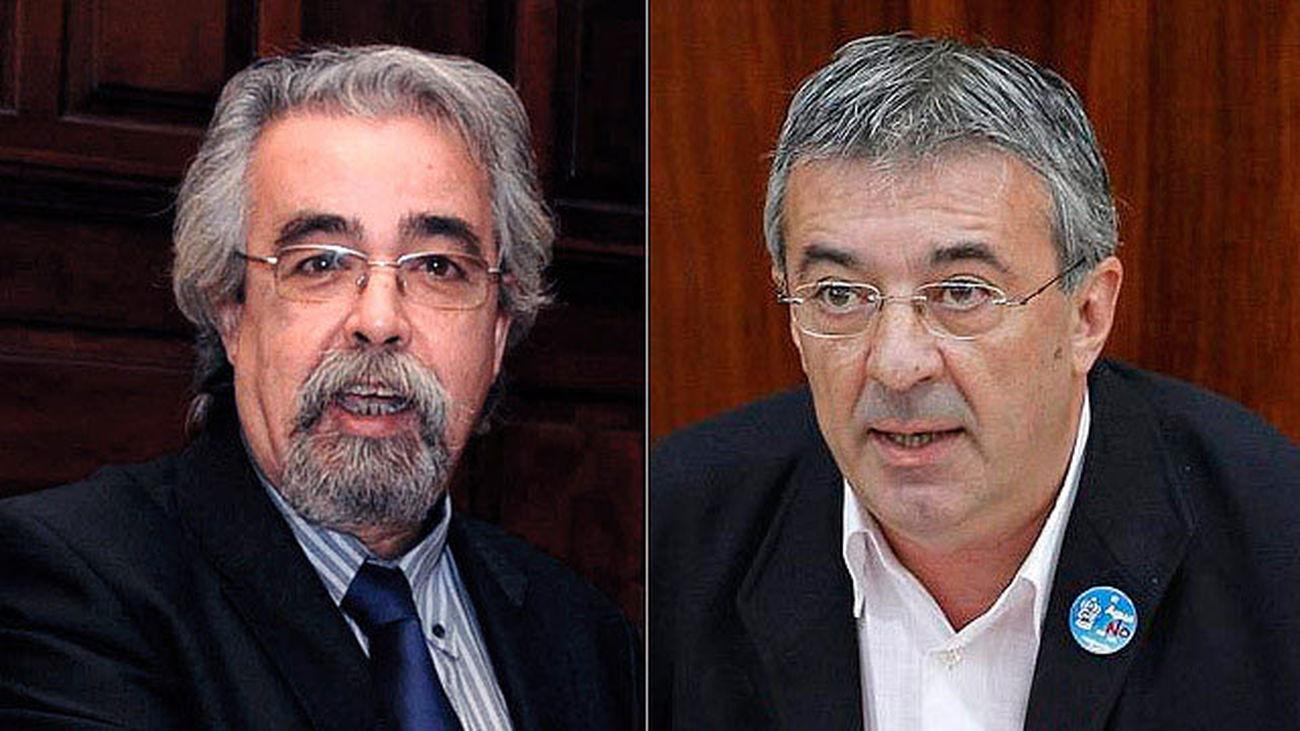 IU expulsa a sus portavoces en Madrid, Gregorio Gordo y Ángel Pérez