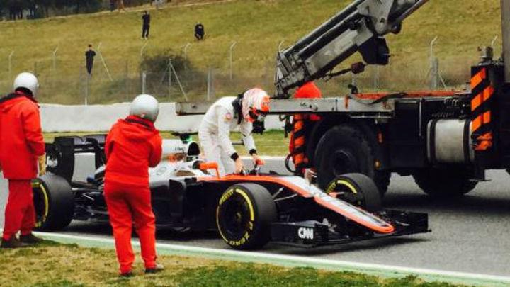 McLaren vuelve a dar un paso atrás