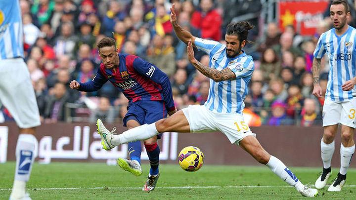 0-1. El Málaga asalta el Camp Nou