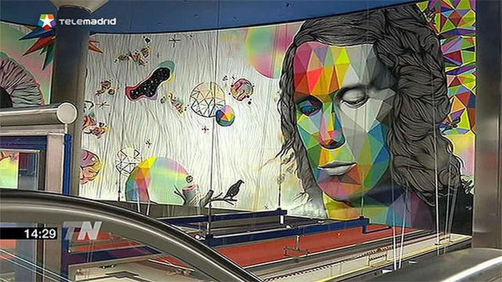 Un mural de Paco de Lucía le recordará en la estación de Metro que lleva su nombre