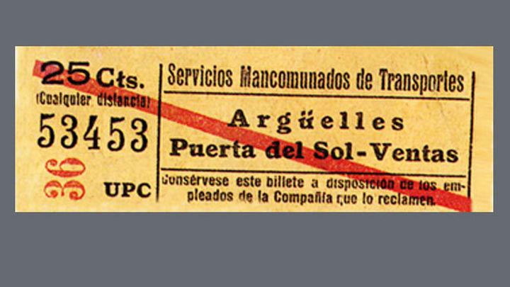 Casa de la Moneda: 150 años de historia del billete de transporte