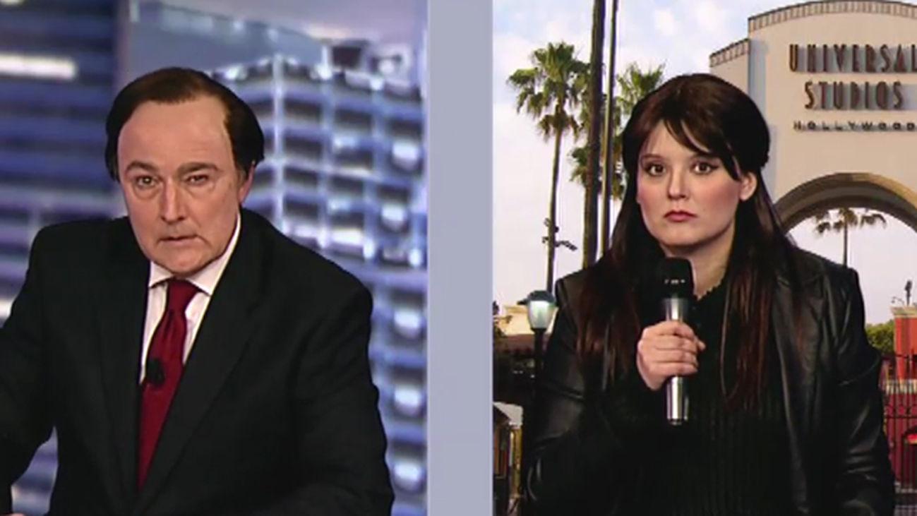 Tele Pedro Piqueras conecta en directo con Hollywood para charlar unos minutos con Javier Bardem